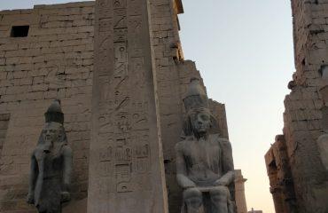דניאל קרן עם משלחת במצרים